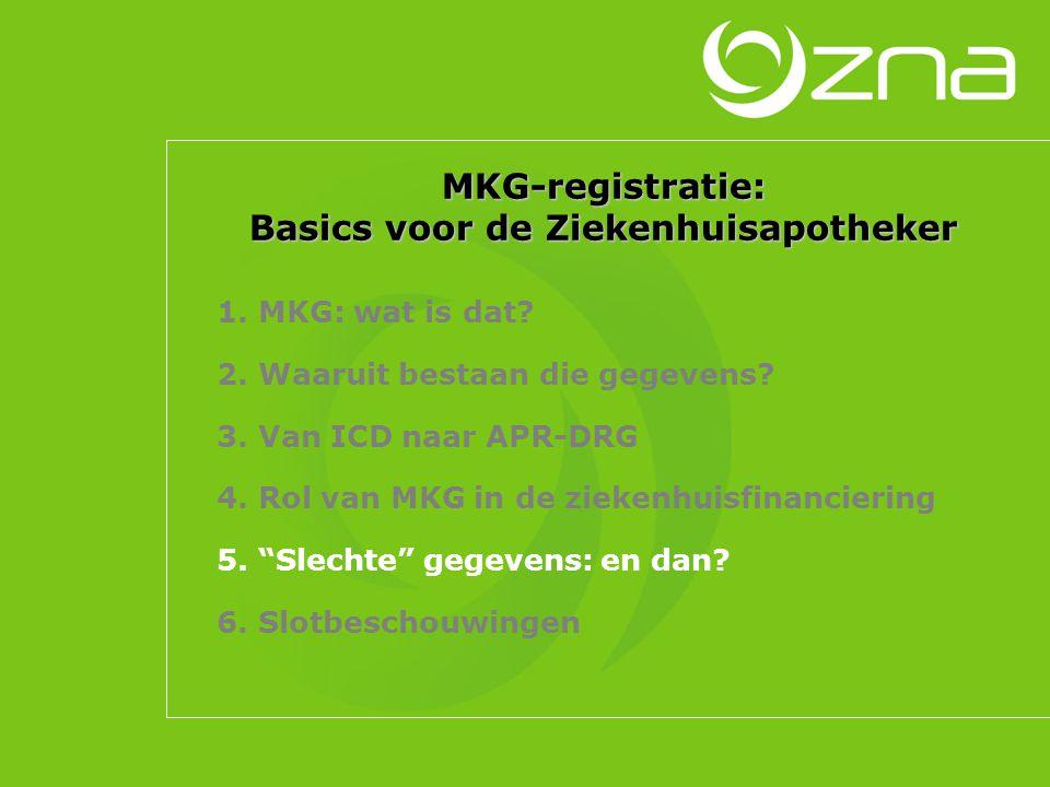 Belang van goede MKG-registratie [1]